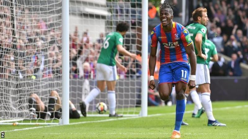 Crystal Palace West Bromwich Albion maç özeti