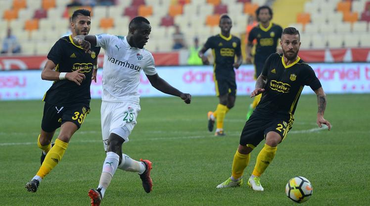 Evkur Yeni Malatyaspor Bursaspor maç özeti