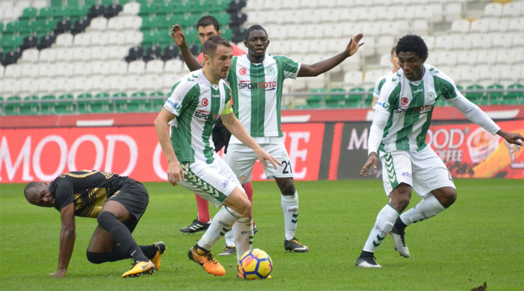 Atiker Konyaspor Osmanlıspor FK maç özeti