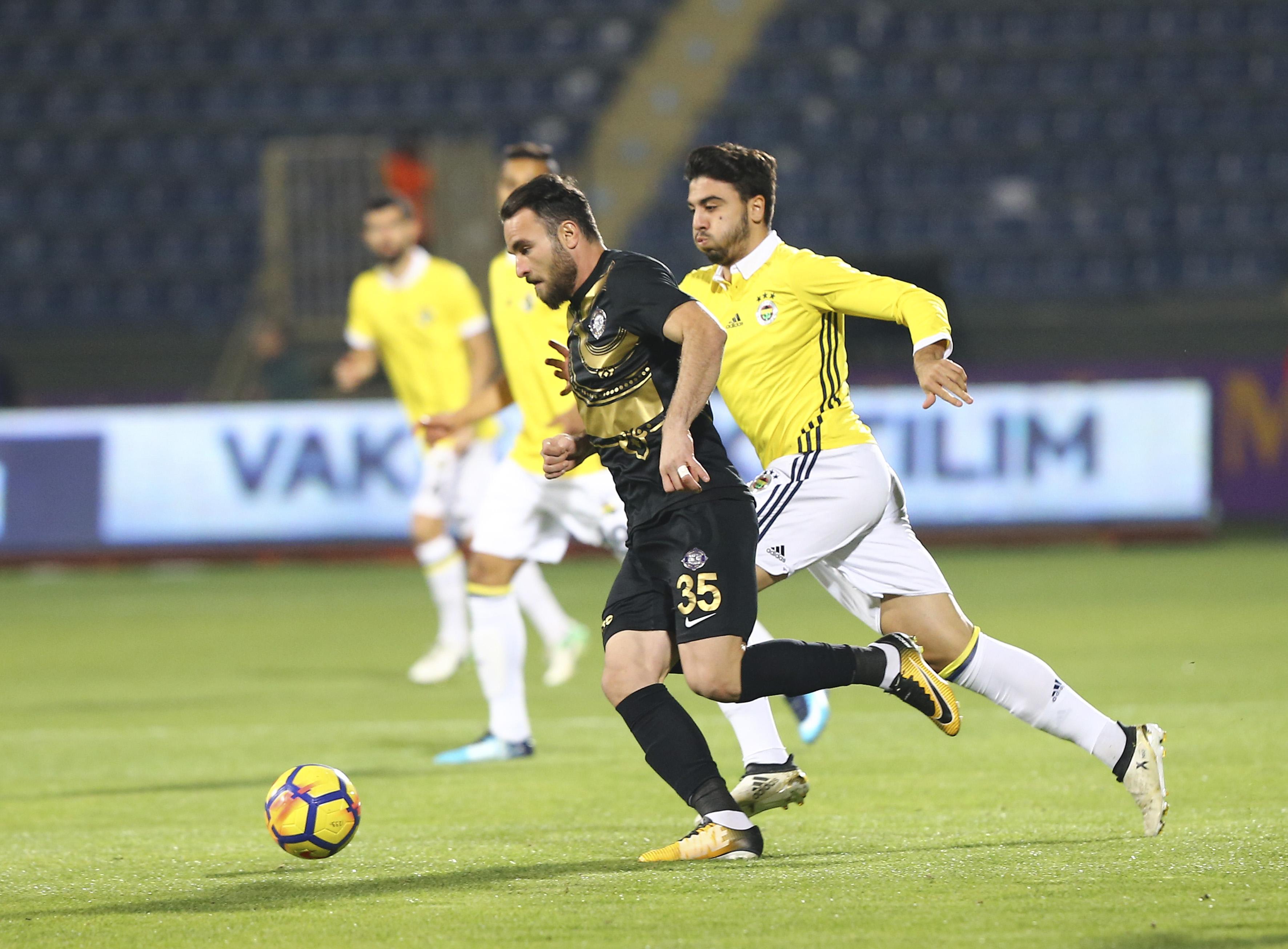 Osmanlıspor FK Fenerbahçe maç özeti