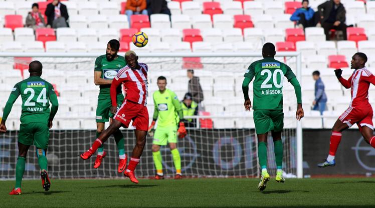Demir Grup Sivasspor Teleset Mob. Akhisarspor maç özeti