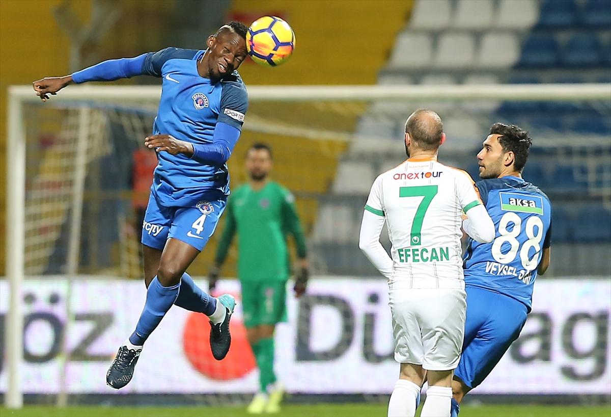 Kasımpaşa Aytemiz Alanyaspor maç özeti