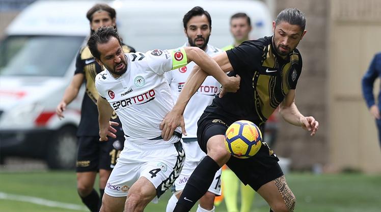 Osmanlıspor FK Atiker Konyaspor maç özeti