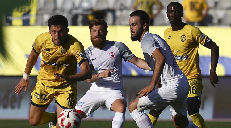 MKE Ankaragücü Balıkesirspor Baltok maç özeti