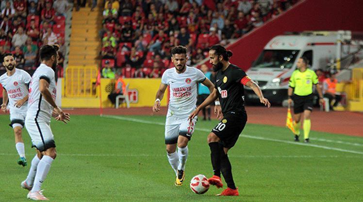 Eskişehirspor Ümraniyespor maç özeti