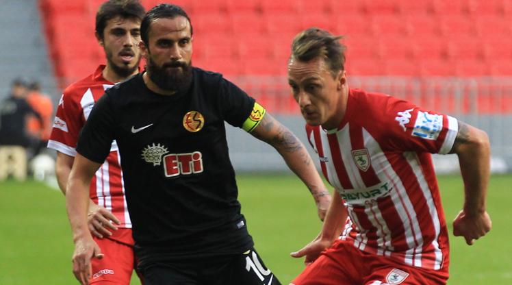 Samsunspor Eskişehirspor maç özeti