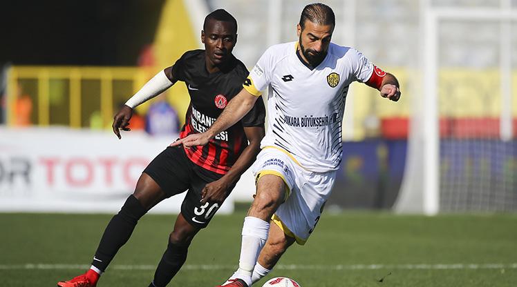 MKE Ankaragücü Ümraniyespor maç özeti