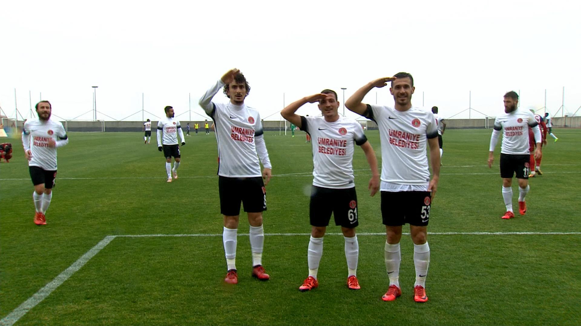 Ümraniyespor Gaziantepspor maç özeti