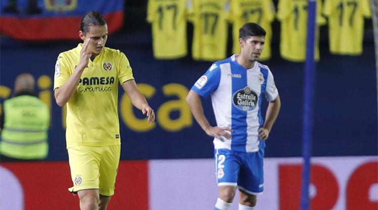 Villarreal Deportivo La Coruna maç özeti