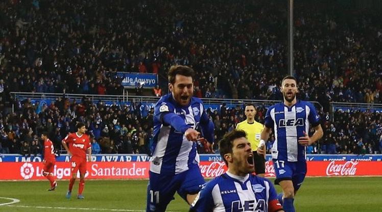 Deportivo Alaves Sevilla maç özeti