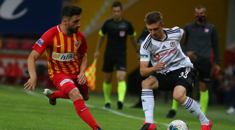 Hes Kablo Kayserispor Beşiktaş maç özeti