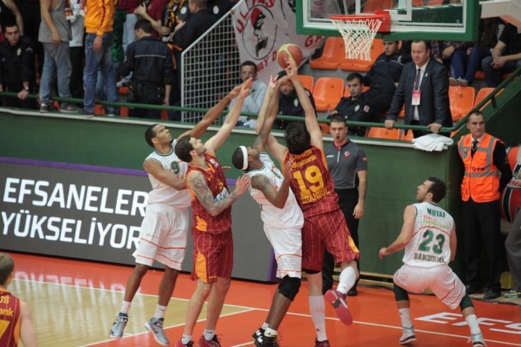 Banvit Galatasaray Liv H. maç özeti