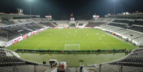 Türkiye-İsveç maçı İnönü Stadı'nda
