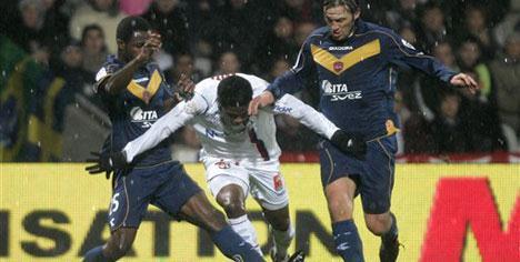 Lyon Valenciennes'i geçemedi