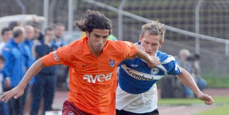 Trabzonspor Bielefeld'i de geçemedi