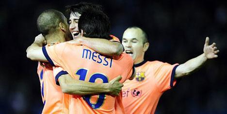 Messi aldı götürdü!