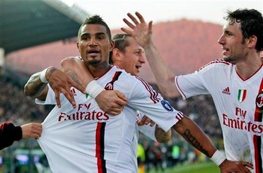 Milan zirveyi bırakmıyor