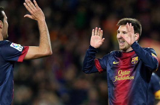 Barça rekorla bitirdi