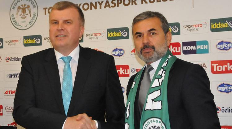 Torku Konyaspor'da Aykut Kocaman dönemi başladı
