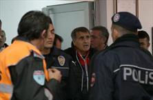 Kayseri'de maç bitti, ortalık karıştı (GALERİ)