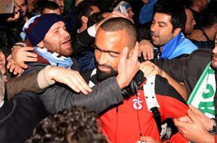 Trabzon'a muhteşem karşılama