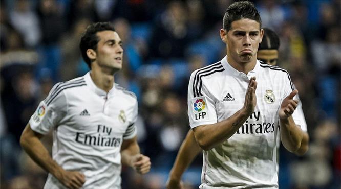 Ronaldo yoksa James var: 5-0