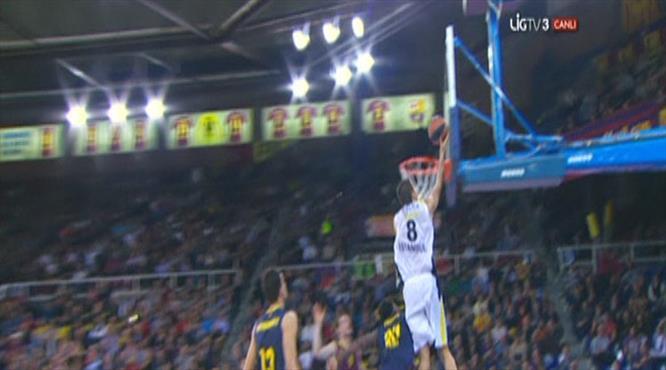 İşte zaferi getiren son saniye basketi