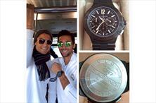 Ronaldo'dan 8 bin euroluk hediye saat!
