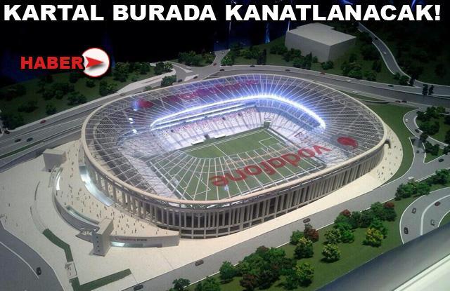 Vodafone Arena'ya görkemli tanıtım!