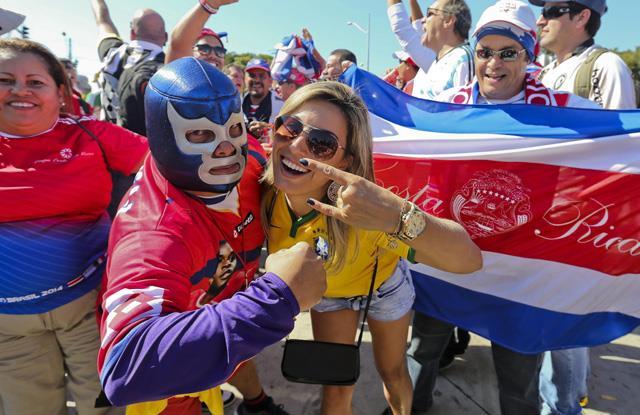 Ev sahibinden Kosta Rika'ya destek
