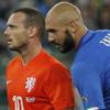 İtalya Sneijder ve Kuyt'ı üzdü!
