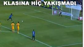 O nasıl penaltı atışı Ronaldinho...