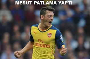 Arsenal'den Galatasaray'a gözdağı! / ÖZET