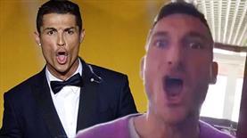 Totti Ronaldo'yla fena kafa buldu!