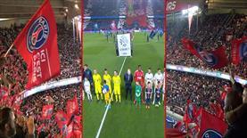 PSG tribünlerinden muhteşem gösteri!..