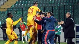 Bursaspor: 1 Kayserispor: 2