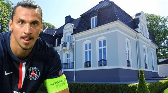 Ibrahimovic'in şatosu elinde kaldı!