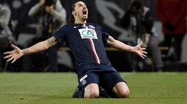 Zlatan'ın '100'ü güldü, PSG finale yürüdü!
