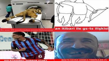 Trabzon, G.Saray'ı yendi sosyal medya çalkalandı!