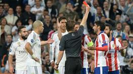 Simeone'den kırmızı kart yorumu