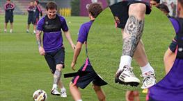 İşte Messi'nin yeni dövmesi!