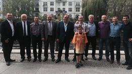 Çakır'a destek ziyareti!