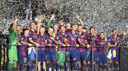 Ve Avrupa'nın en büyüğü Barcelona!