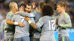 Real Madrid City'i perişan etti (ÖZET)