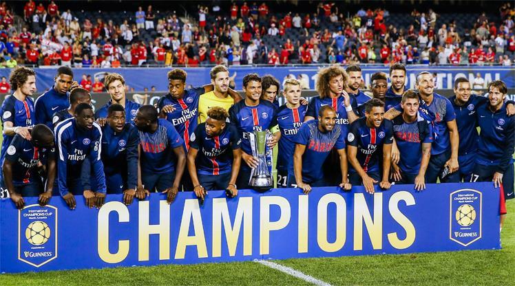 Amerika'da şampiyon PSG