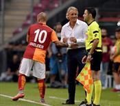 Mancini'ye sürpriz, F.Bahçe'ye gönderme!.. İşte o anlar!..