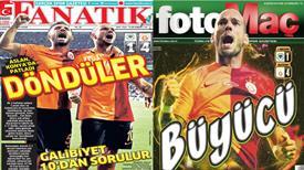 Manşetlerde Galatasaray var!