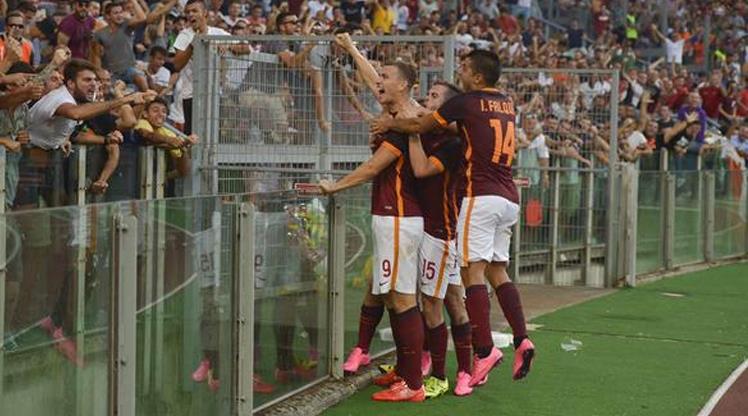 Muhteşem maç Roma'nın! (ÖZET)