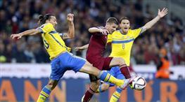 Zlatan yıkıldı! Rusya'dan tek gol