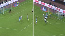 Napoli'nin sevinci kursağında kaldı! 1 dakikada 2 gol!